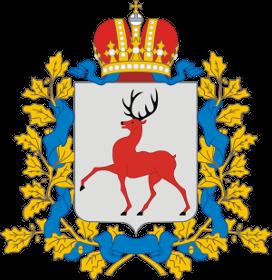 Герб города Нижегородская обл., с. Ближнее Борисово